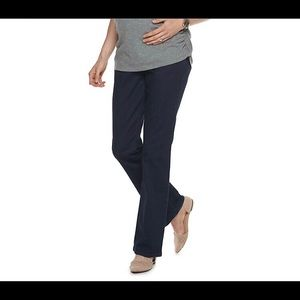 a:glow Full Belly Panel Maternity Bootcut Jeans